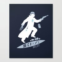 SCI-FI Rules Canvas Print