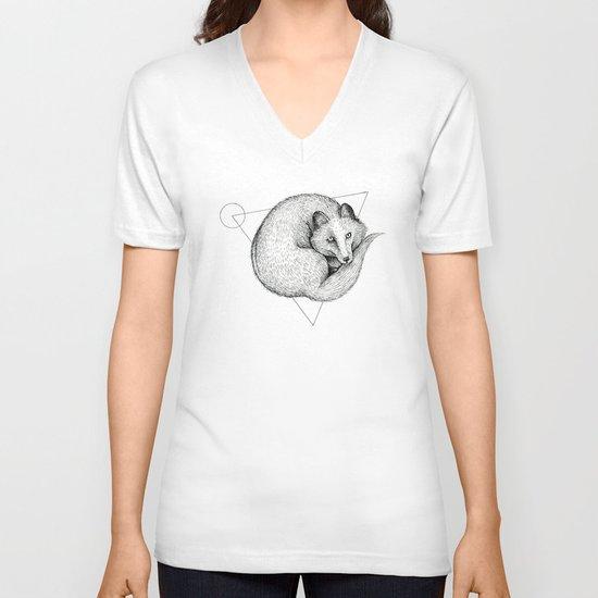 'Wildlife Analysis V' V-neck T-shirt