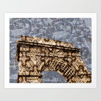 Washington Square Arch Art Print
