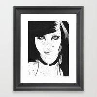 Kristiana Framed Art Print