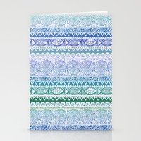 Sea of Stripes Stationery Cards