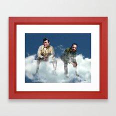 Together Again Framed Art Print