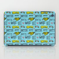 Butts Pattern iPad Case