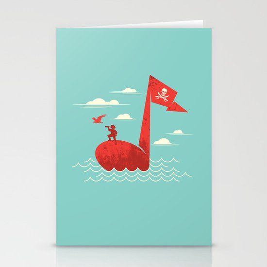 the pirate's song Stationery Card