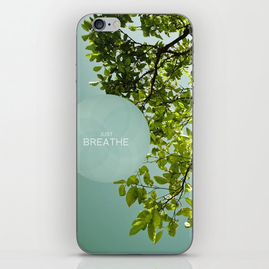 Just Breathe iPhone & iPod Skin