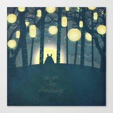 Totoro ' S Dream  Canvas Print