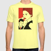 Red Head Mens Fitted Tee Lemon SMALL