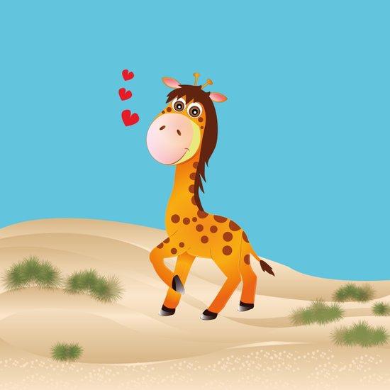 Little One Giraffe Art Print