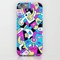 iPhone Cases featuring Dimbleby's Dilemma by Mister Phil
