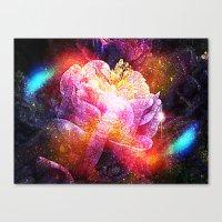Wrap In Velvet Canvas Print