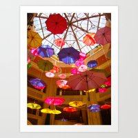 You Can Stand Under My Umbrella Art Print