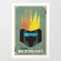 Hail to the King! Art Print