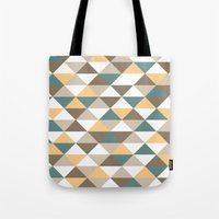 Triangle Pattern #2 Tote Bag