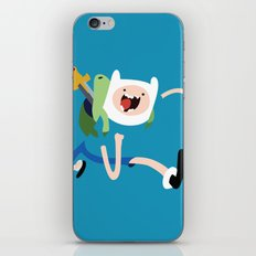 Adventure Time - Finn iPhone & iPod Skin