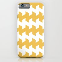 jaggered and staggered in mimosa iPhone 6 Slim Case