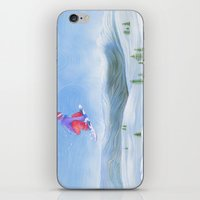 Winter Flight - Drawing … iPhone & iPod Skin