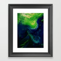Abstract Hurricane By Ro… Framed Art Print