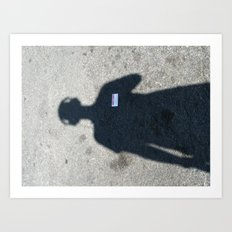 untitled self-portrait Art Print