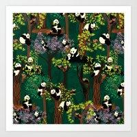 Both Species Of Panda - … Art Print