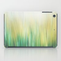 Grass abstract iPad Case