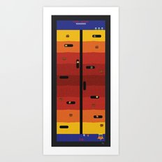 Dig Dug to China Art Print