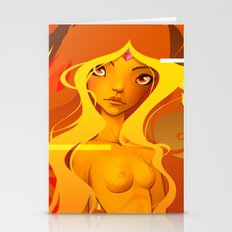 Flame Princess Stationery Cards