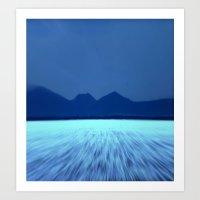 Blue by You! Art Print