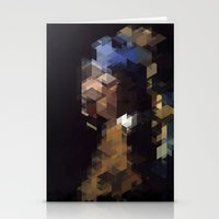 Panelscape Iconic  - Girl with a Pearl Earring Stationery Cards