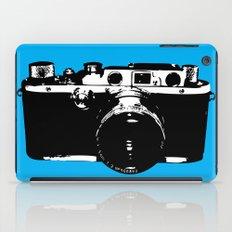 Leica in Blue iPad Case