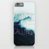 iPhone & iPod Case featuring Adventure Mountain by Leah Flores