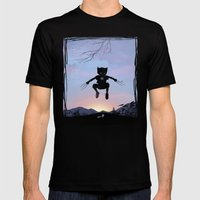 Wolverine Kid Mens Fitted Tee Black SMALL