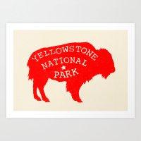 Yellowstone National Par… Art Print