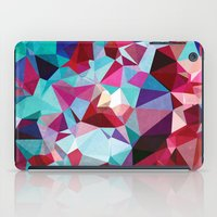 Polygon Pattern iPad Case