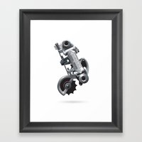 Nuvo Record Rear Deraill… Framed Art Print