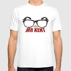 Mr Kent SMALL White Mens Fitted Tee
