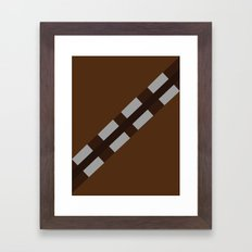 Star Wars - Chewbacca Framed Art Print