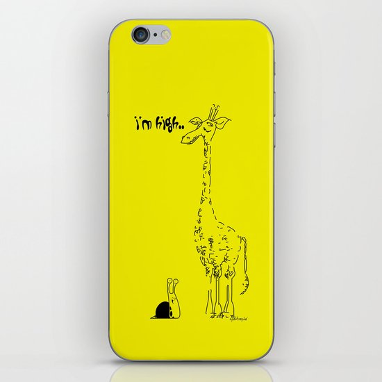 High Giraffe iPhone & iPod Skin