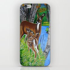 In the wooods  iPhone & iPod Skin