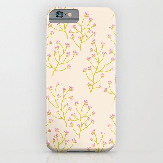 wildflowers yellow iPhone & iPod Case