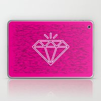 diamond magenta Laptop & iPad Skin