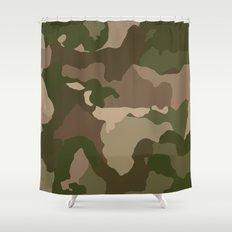 Woodsman Camo Shower Curtain