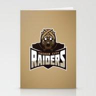 Tusken City Raiders - Ta… Stationery Cards