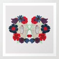 Flowerface pt. 2 Art Print