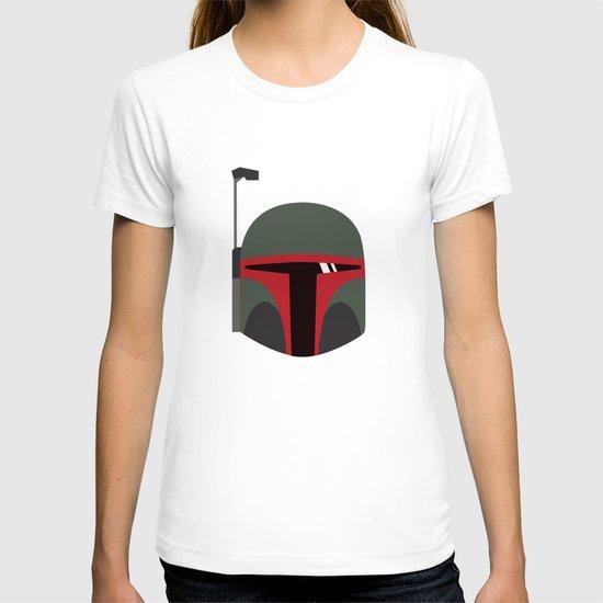 Star Wars Minimalism - Boba Fett T-shirt