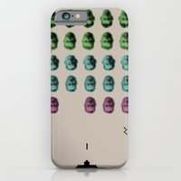 Faceinvaders iPhone 6 Slim Case