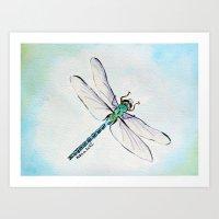 Dragofly Art Print