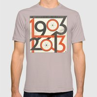 100 Years of The Tour de France Mens Fitted Tee Cinder SMALL