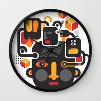 See No Evil. Wall Clock