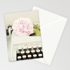 Remington and rose Stationery Cards