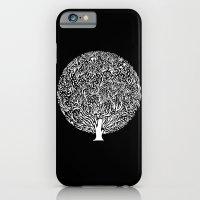 Black And White Tree iPhone 6 Slim Case
